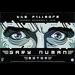 Gary Numan New Fillmore F1071 Poster