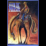 Willie Nelson New Fillmore Poster F1079