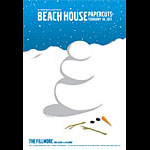 Beach House New Fillmore F1088 Poster