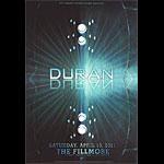 Duran Duran New Fillmore Poster F1098