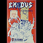 Exodus New Fillmore Poster F110