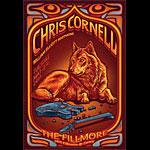 Chris Cornell New Fillmore Poster F1102