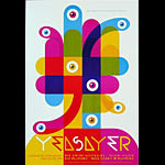 Yeasayer New Fillmore Poster F1107