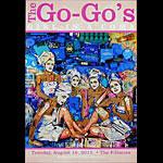 The Go-Go's New Fillmore Poster F1112
