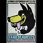 Band of Horses New Fillmore Poster F1113