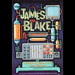 James Blake New Fillmore Poster F1114
