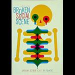 Broken Social Scene New Fillmore Poster F1115