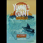 Young The Giant New Fillmore Poster F1133