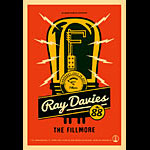 Ray Davies New Fillmore F1177 Poster
