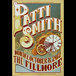 Patti Smith New Fillmore Poster F1184