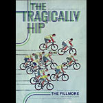 The Tragically Hip New Fillmore Poster F1193