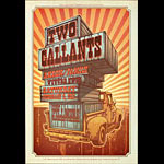 Two Gallants New Fillmore Poster F1200