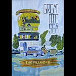 Great Big Sea New Fillmore Poster F1204