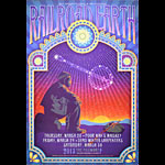 Railroad Earth New Fillmore Poster F1208