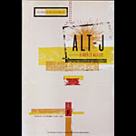 Alt-J New Fillmore F1209 Poster