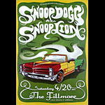 Snoop Dogg (Snoop Lion) New Fillmore Poster F1215