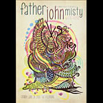 Father John Misty New Fillmore F1224 Poster