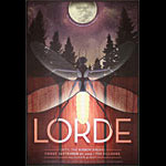 Lorde New Fillmore Poster F1227