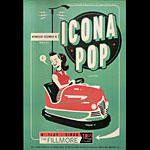 Icona Pop New Fillmore Poster F1239