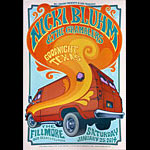 Nicki Bluhm and the Gramblers 2014 Fillmore F1248 Poster