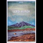Lord Huron 2014 Fillmore F1250 Poster