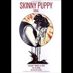 Skinny Puppy 2014 Fillmore F1251 Poster