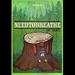 Needtobreathe 2014 Fillmore F1268 Poster