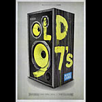 Old 97's 2014 Fillmore F1269 Poster