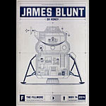 James Blunt New Fillmore Poster F1270