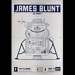 James Blunt 2014 Fillmore F1270 Poster