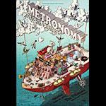 Metronomy 2014 Fillmore F1278 Poster