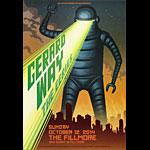Gerard Way 2014 Fillmore F1291 Poster