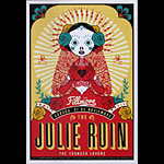 The Julie Ruin 2014 Fillmore F1299 Poster