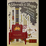 Shovels and Rope New Fillmore Poster F1301