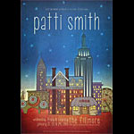 Patti Smith New Fillmore Poster F1312