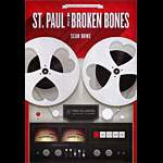 St. Paul and the Broken Bones New Fillmore Poster F1315