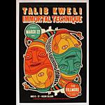 Talib Kweli New Fillmore Poster F1329