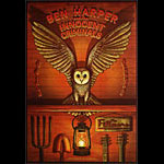 Ben Harper and the Innocent Criminals New Fillmore Poster F1330