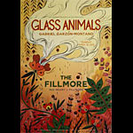Glass Animals New Fillmore Poster F1336