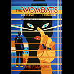 The Wombats New Fillmore Poster F1342