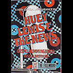Huey Lewis And The News New Fillmore Poster F137