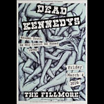 Dead Kennedys New Fillmore Poster F1396