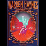Warren Haynes New Fillmore Poster F1403