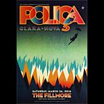 Polica New Fillmore Poster F1404