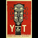 Y&T New Fillmore Poster F1406