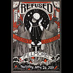 Refused New Fillmore Poster F1415
