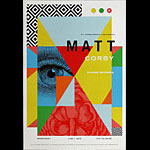 Matt Corby New Fillmore Poster F1417