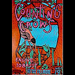 Counting Crows New Fillmore Poster F142