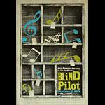 Blind Pilot New Fillmore Poster F1440