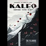 Kaleo New Fillmore Poster F1441
